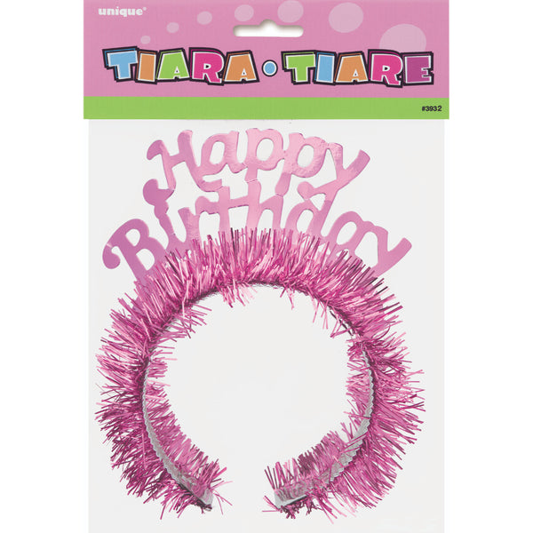 Theme Party Dlx Happy Birthday Tiara