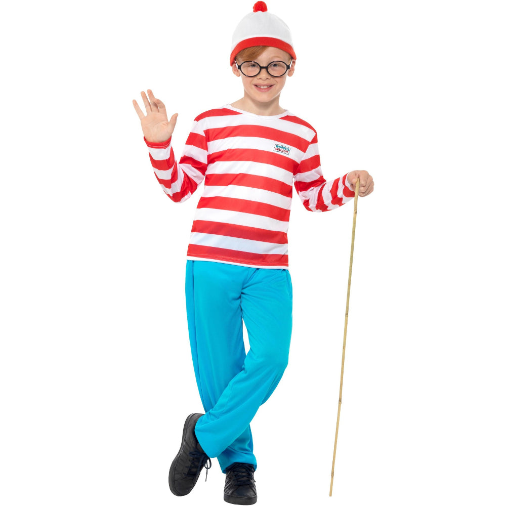 Wheres Wally Boy Costume