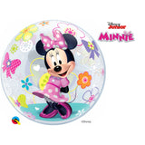 Minnie Mouse Bow-Tique 22in Single Bubble 1Ct