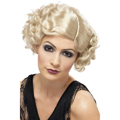 20s Flirty Flapper F Wig Blonde