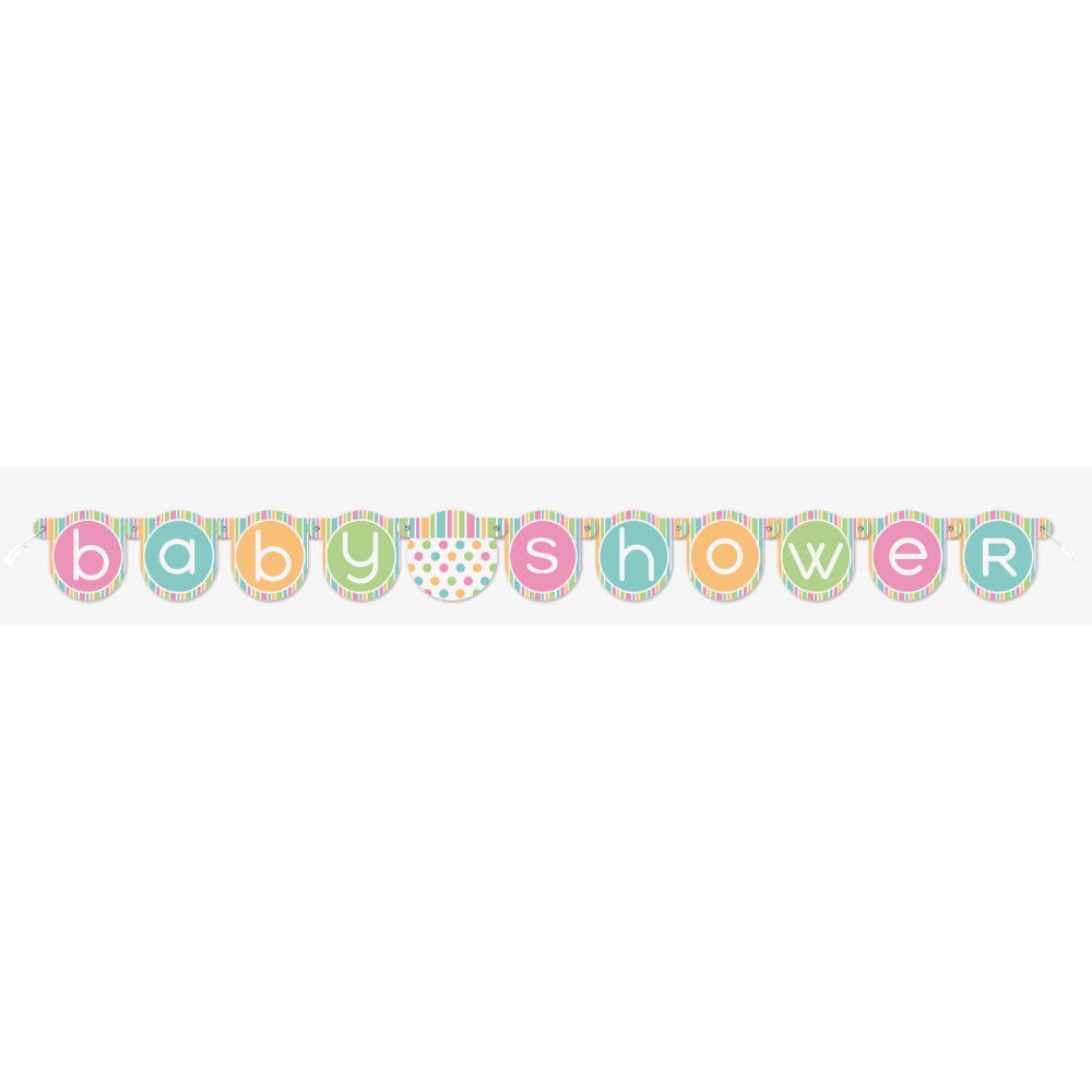 Baby Shower Jointed Banner