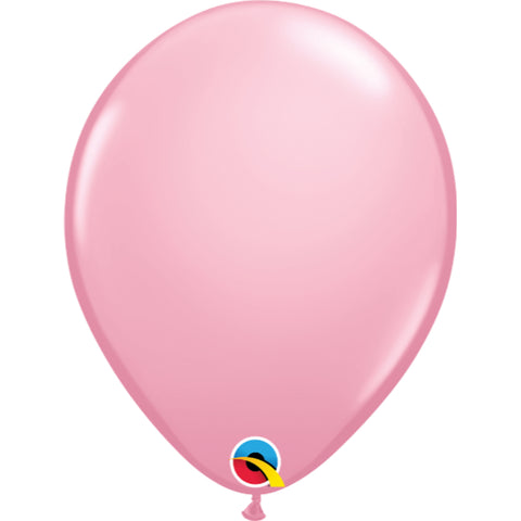 Standard Colours 11in Pink Latex Balloons 6 pieces