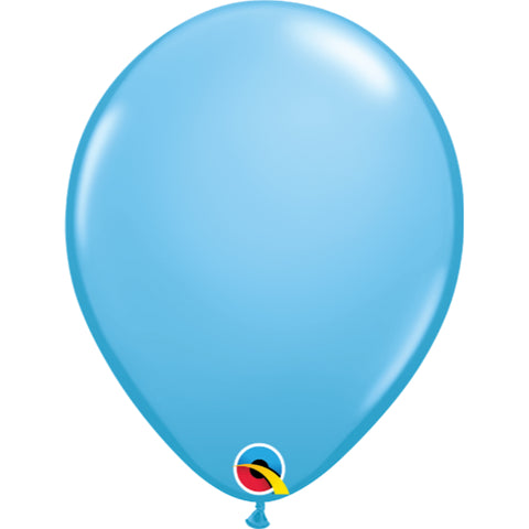 11  inch  Standard Colours  Pale Blue Latex Balloons