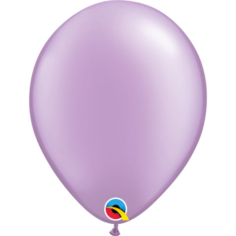 11  inch   Fashion Colours  Pearl Lavender Latex Balloons