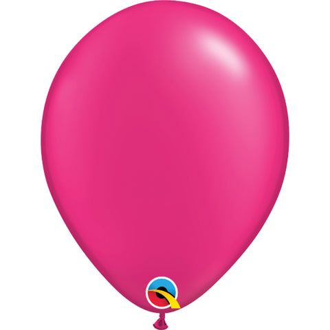 11  inch   Fashion Colours  Pearl Megenta Latex Balloons