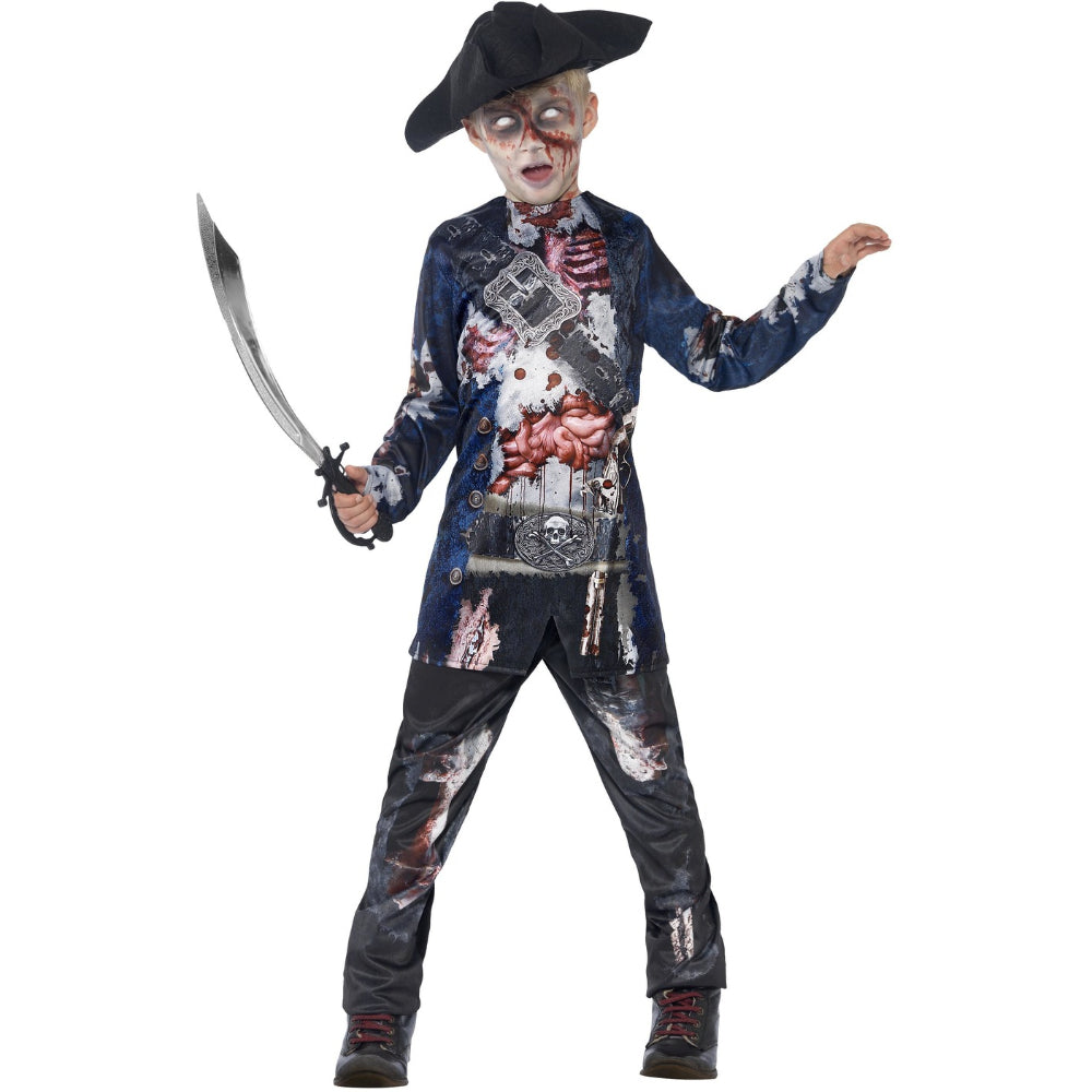 Deluxe Jolly Rotten Pirate Boy Costume