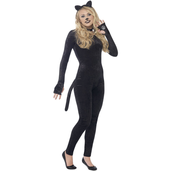 Cat Teen Girl Costume Black