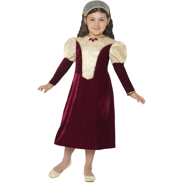 Tudor Damsel Princess Costume