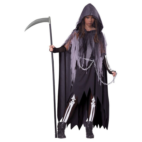 Miss Reaper Tween Girls Costume