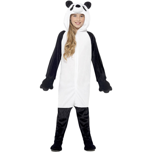Panda Black & White Girl Costume