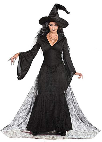 Black Mist Witch Women Costume