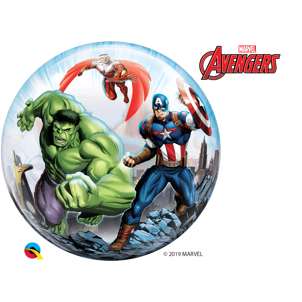Single Bubble Marvel'S Avengers Foil 1 pc
