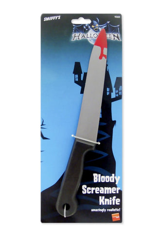 Blood Stained Screamer Knife Grey