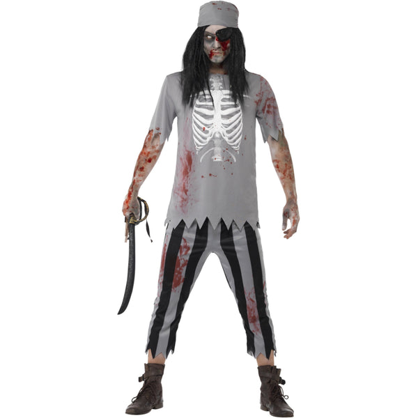 Zombie Pirate Male Costume
