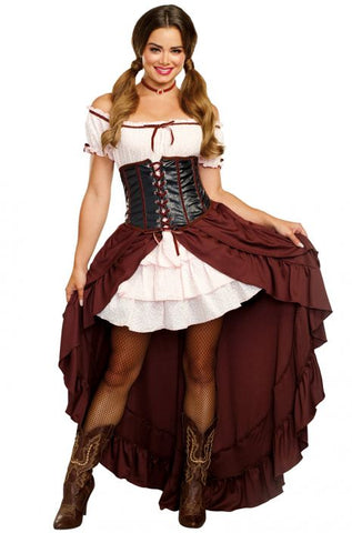 Saloon Gal Female Costume