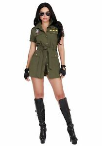 Fighter Pilot Female Costume