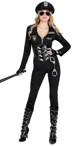 Officer Lauren Order Female Costume