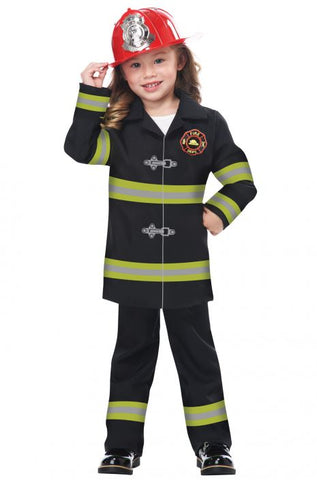 Jr. Fire Chief Boy Costume