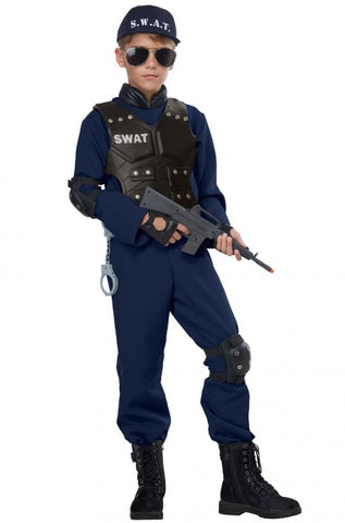 Junior Swat Child Costume