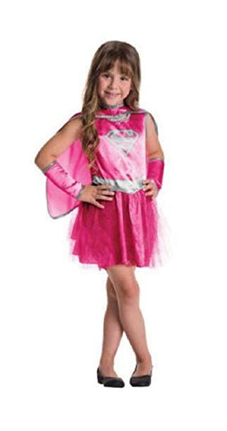 Tutu Pink Kids Supergirl Costume