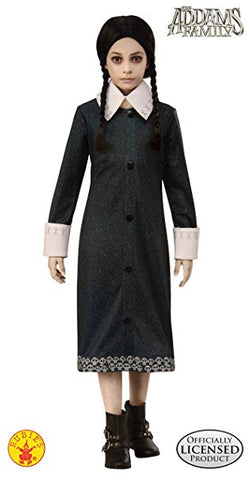 The Addams Family Wednesday Dress Girl Costume