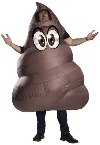 Funflatable Adult Poop Costume