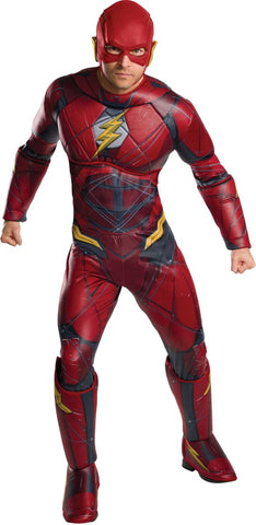 Adult Deluxe Justice League Flash Costume
