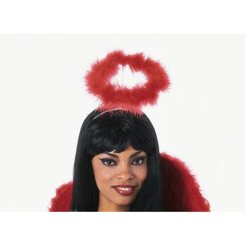 Luxurious Marabou Halo