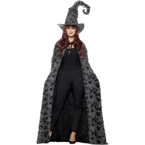 Deluxe Spell Caster Cape Grey