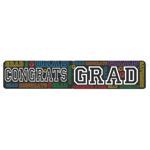 Grad Party Giant Jointed Banner