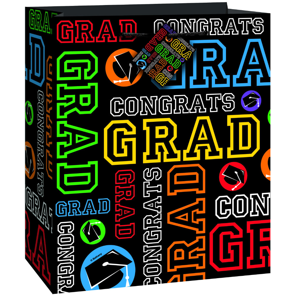 Grad Party Gift Bag Glossy Med