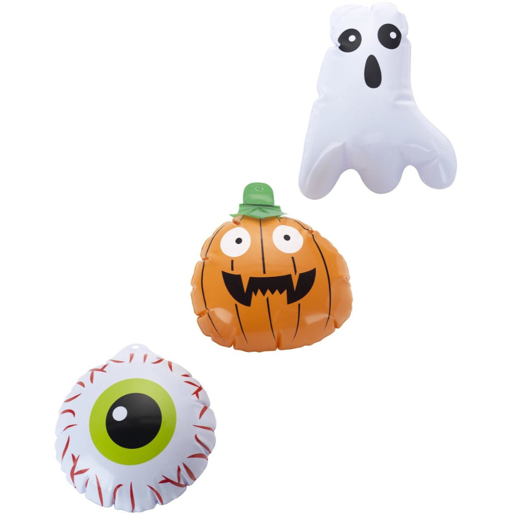 Mini Halloween Inflatables Set Of 3 Eyeballs