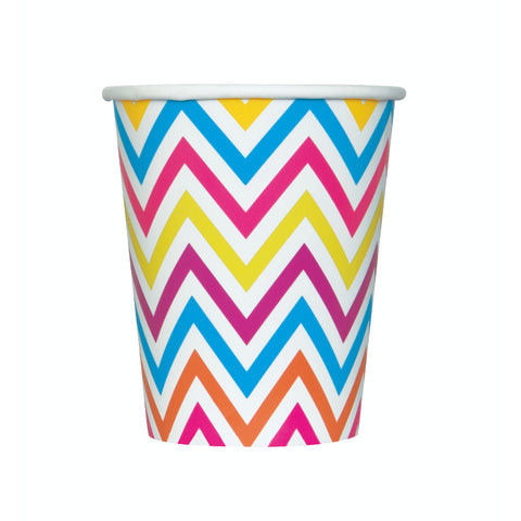 Rainbow Chevron Cups