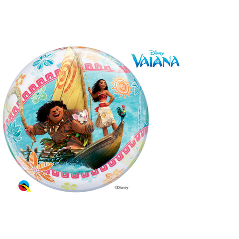 Vaiana Single Bubble 22in 1Ct
