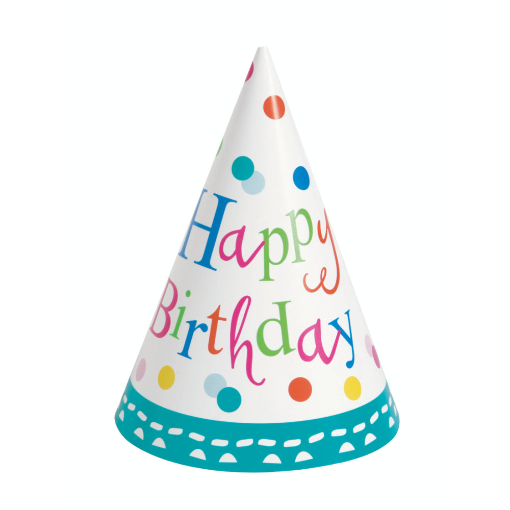 Confetti Cake Birthday Party Hats