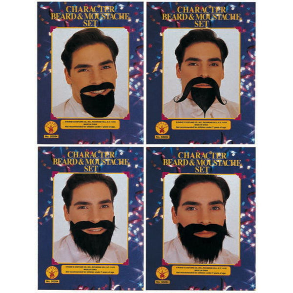 Character Beard & Moustache Set