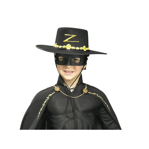 Zorro Child Hat And Mask Set