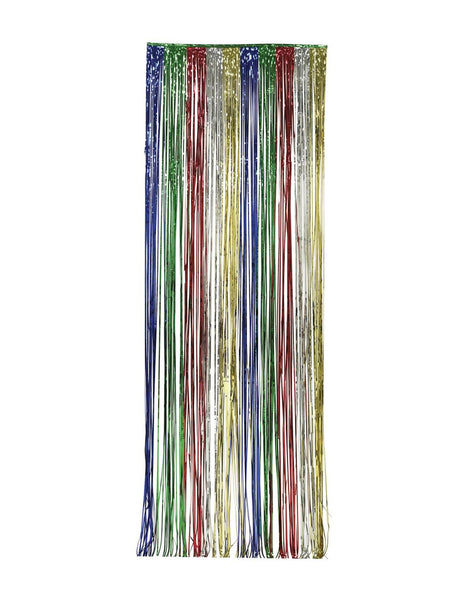 Foil Door Curtains Multicolor