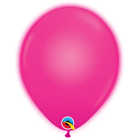 11in Q-Lite Magenta Latex Balloons