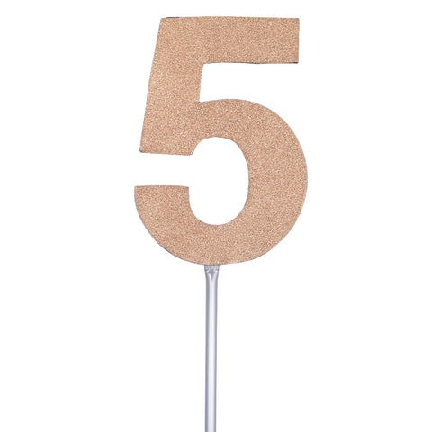 Diamond Cake Toppers with 4in Stick #5
