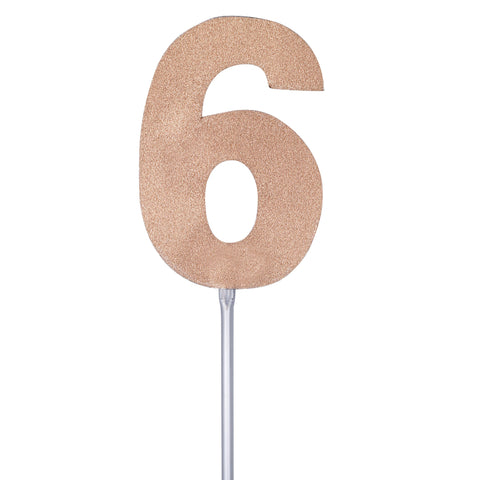 Diamond Cake Toppers with 4in Stick #6