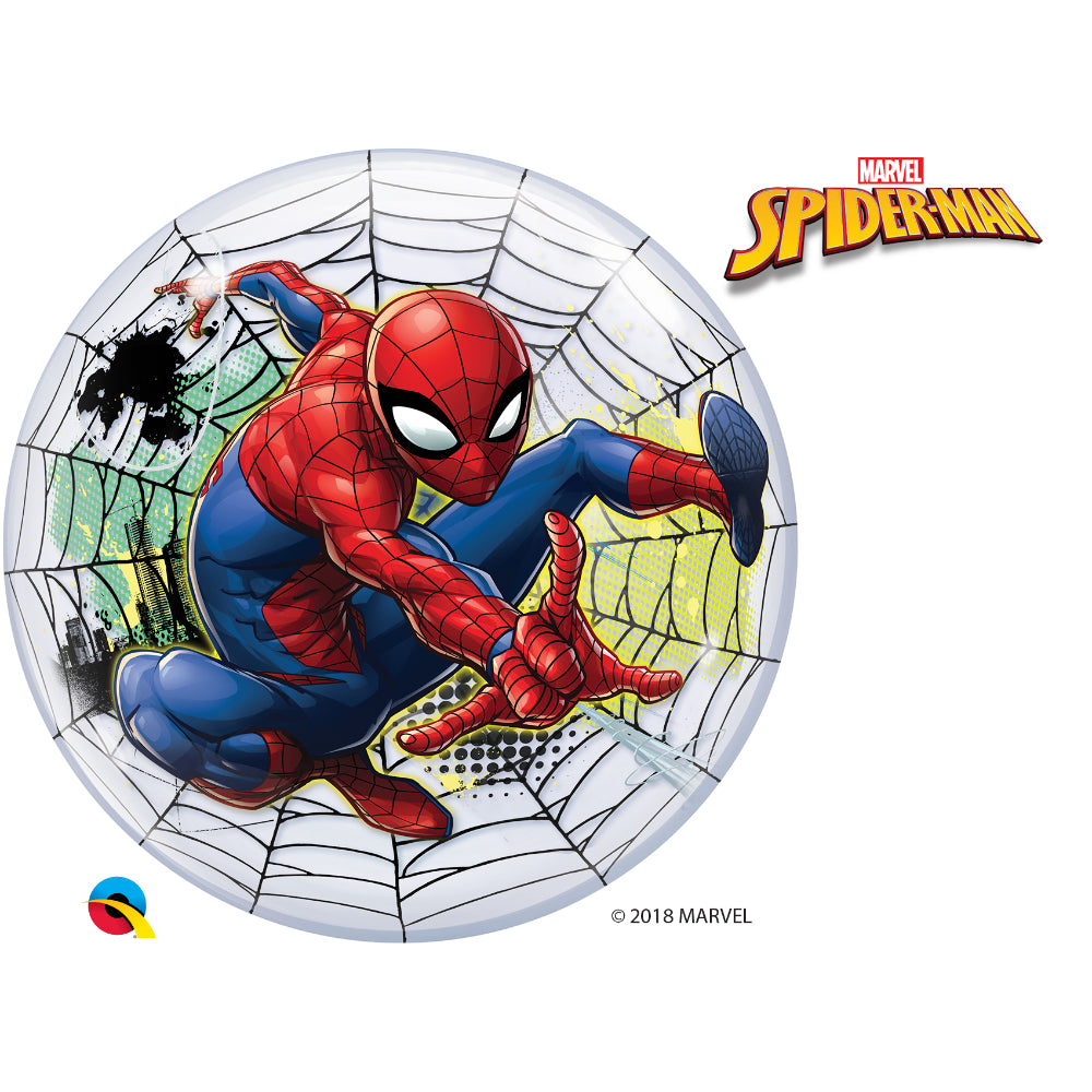 Marvels Spider-Man Web Slinger Bubble Balloon 22in