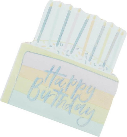 Birthday Cake Napkins