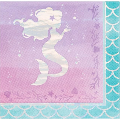 Mermaid Shine L-Napkins
