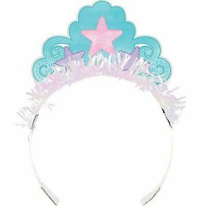 Mermaid Shine Tiara with Fringe