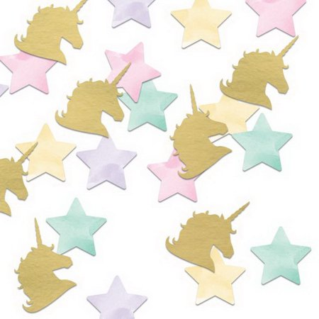 Unicorn Sparkle Printed Confetti