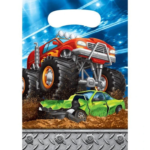 Monster Truck Rally Luncheon Plate