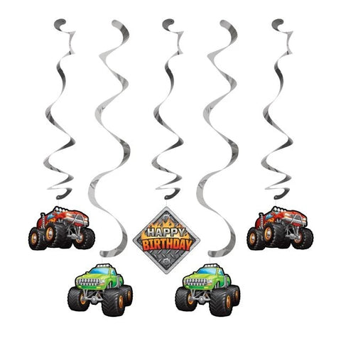 Monster Truck Rally Dizzy Danglers Assorted