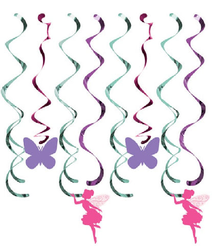 Floral Fairy Sparkle Dizzy Danglers Assorted