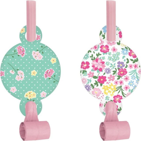 Floral Fairy Sparkle Blowouts With Medallion